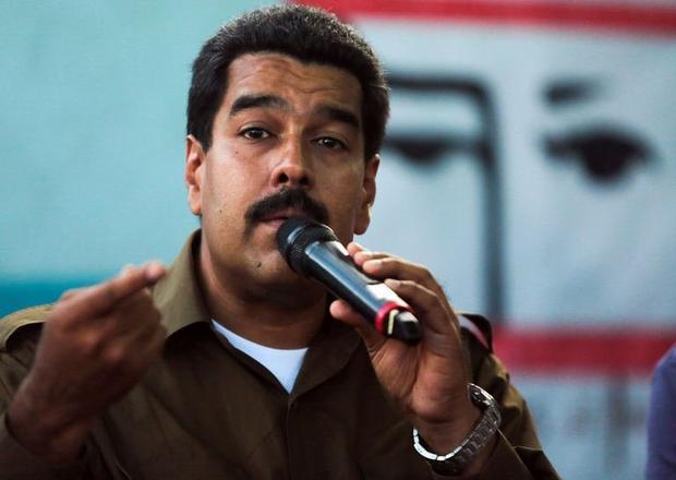 Maduro blasts devil Obama