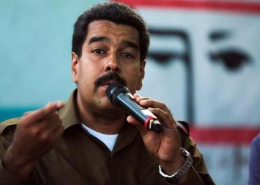 Maduro blasts devil Obama
